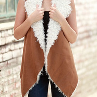 Out of the Woods Suede Vest