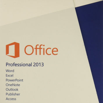 Microsoft Office Professional 2013 1pc/1user (Word Excel PPT OneNote Outlook ...