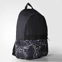 adidas Essential Snake Pattern Backpack - Grey | adidas US