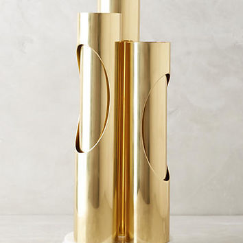 Brass Ellipse Lamp