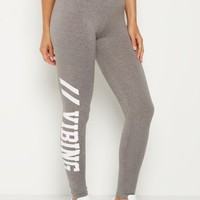 Vibing High Rise Soft Knit Legging | Leggings | rue21
