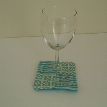 Chic Table Decor Coasters Quality Cotton Protects Table Tops
