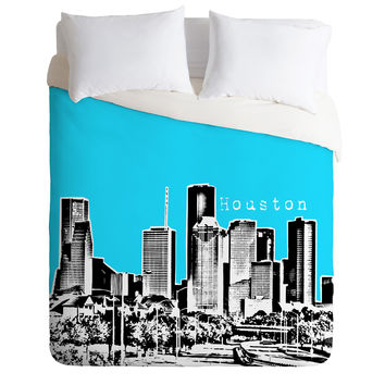 Bird Ave Houston Sky Duvet Cover
