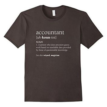 Accountant Definition Shirt, Funny Accounting Gift