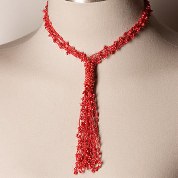 Lovely Seed Bead Necklace