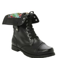 Marvel Comic Combat Boot