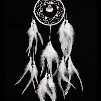 DCCKJ6E White Wind Bell Dream Catcher [9613384335]
