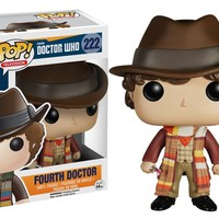 Fourth Doctor - Doctor Who Funko Pop! Vinyl Figure #222