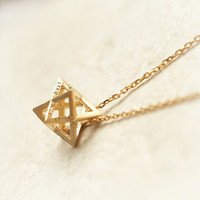 3D star necklace by laonato on Etsy