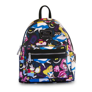 Disney Loungefly Alice in Wonderland Classic Mini Backpack Bag