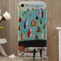 Fish Print iPhone 5/5S/6/6S/6 Plus/6S Plus Case Very Light Case-12-170928
