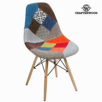 Patchwork abs chair by Craften Wood