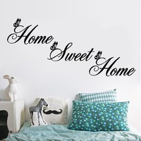 HOME SWEET HOME! Decal decor
