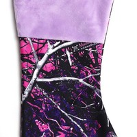 Muddy Girl christmas stocking