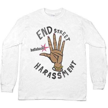 End Street Harassment -- Unisex Long-Sleeve