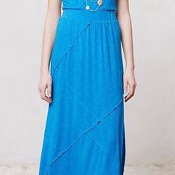 NWT Anthropologie Sapphire Day Dress Sz L - From T-Shirt by Dolan