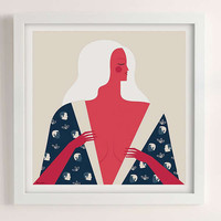 Veronica Grech No Satisfaction Art Print | Urban Outfitters