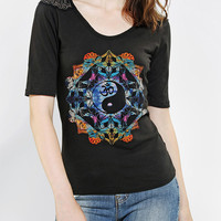 Truly Madly Deeply Mystical Embellished Tee - Urban Outfitters