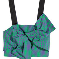 H&M Bustier with Bow $34.99