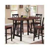 Bundle-53 Wildon Home Counter Height Dining Table - Walmart.com