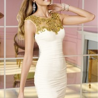 Alyce 4375 Beaded Jersey Dress