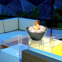 Oasis Indoor Outdoor Bio-ethanol Fireplace