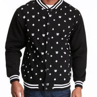 Crownz All-Over Print Baseball Jacket by Buyers Picks