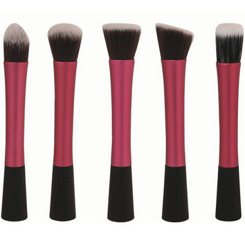 Red Metallic 5-piece Select Brush Kit