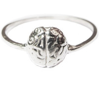 verameat | brainiac ring in silver