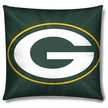 Green Bay Packers NFL Toss Pillow (15x15)