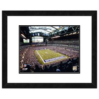 Indianapolis Colts Lucas Oil Stadium Framed Wall Art (Clt Team)