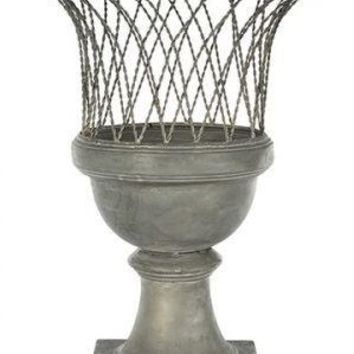 Brent Wood Bay Urn, Small