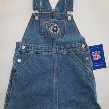 Tennessee Titans Reebok Toddler Jean Skirt Jumper Size 2T