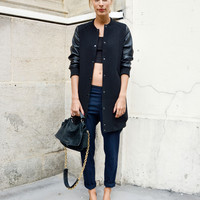 luxe-bomber-style-street-style-paris-FASHION-WEEK-ss14-_ (2)