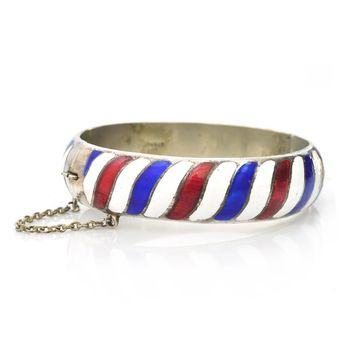 Nautical Enamel Bracelet