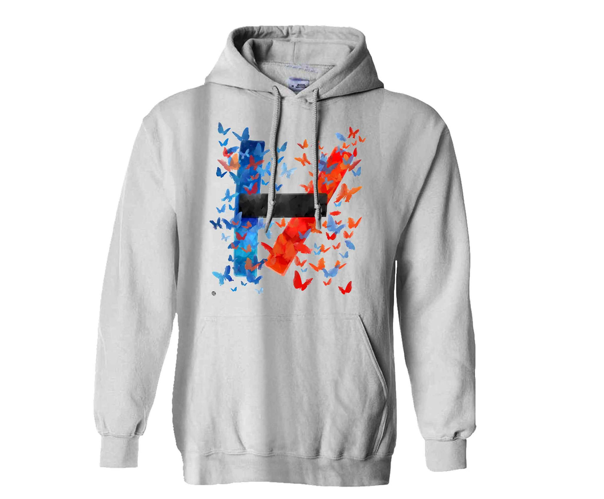 twenty one pilots logo design hoodie for from. Black Bedroom Furniture Sets. Home Design Ideas