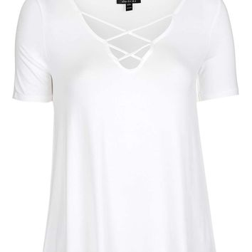 Cross Front Swing Tee - Topshop