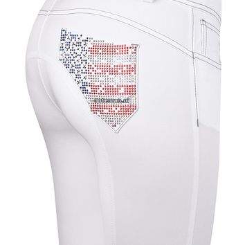 Animo Riding Breeches Naria Bianco | Ooteman Equestrian