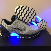 Mag!Nike HyperAdapt 1.0 grey black Basketball Shoes 40-47