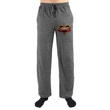 MPLP Street Fighter Logo Print Men's Lounge Pants