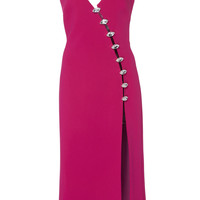 Asymmetric Crystal Midi Dress | Moda Operandi