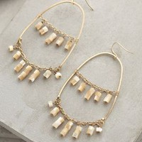 Edme Hoops by Anthropologie Gold One Size Jewelry