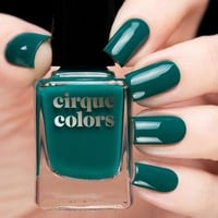 Cirque Colors Tavern On The Teal Nail Polish (Metropolis Collection)