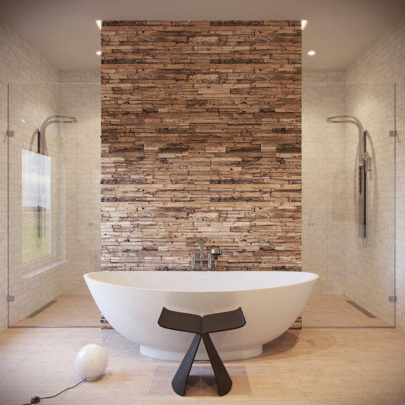 reclaimed wood wall rustic wall panels from teaknco on etsy. Black Bedroom Furniture Sets. Home Design Ideas