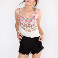 Wild Aztec Crop Top