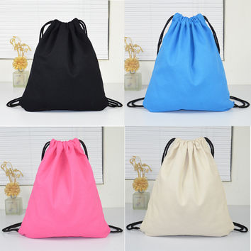 College Hot Deal Stylish Back To School Comfort On Sale Casual With Pocket Canvas Cotton Linen Bags Backpack [8403300679]
