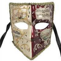 RedSkyTrader Mens Full Face Venetian Party Mask