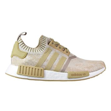 Adidas NMD_R1 PK Men's Shoes Linen Khaki/Linen Khaki/Off White by1912