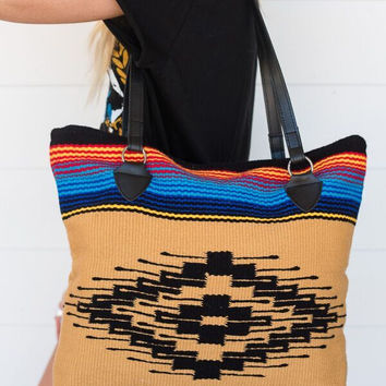 Old Saltillo Woven Purse