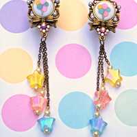 Pastel Balloon Party Dangly Plugs - CUSTOM SIZE